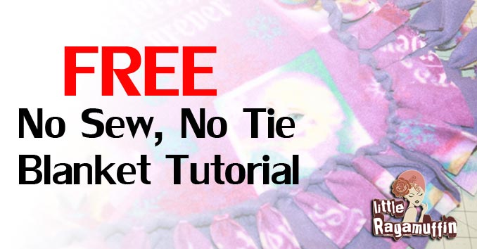 How To Make A No Sew No Tie Fleece Blanket For Adults Kids And Babies